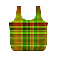 Multicoloured Background Pattern Full Print Recycle Bags (m)