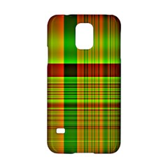 Multicoloured Background Pattern Samsung Galaxy S5 Hardshell Case