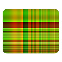 Multicoloured Background Pattern Double Sided Flano Blanket (Large)