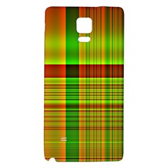 Multicoloured Background Pattern Galaxy Note 4 Back Case