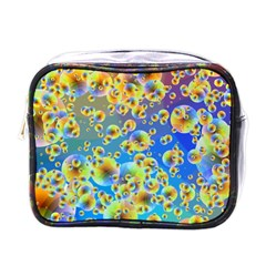Color Particle Background Mini Toiletries Bags