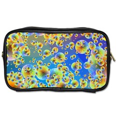 Color Particle Background Toiletries Bags 2-Side