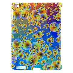 Color Particle Background Apple Ipad 3/4 Hardshell Case (compatible With Smart Cover)