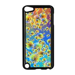 Color Particle Background Apple Ipod Touch 5 Case (black)