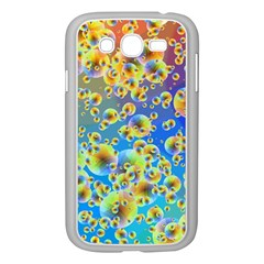 Color Particle Background Samsung Galaxy Grand Duos I9082 Case (white)