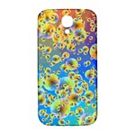 Color Particle Background Samsung Galaxy S4 I9500/I9505  Hardshell Back Case Front