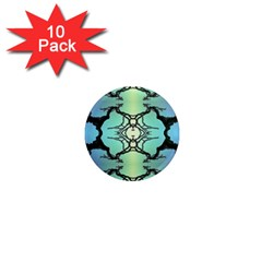 Branches With Diffuse Colour Background 1  Mini Magnet (10 Pack)