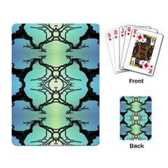 Branches With Diffuse Colour Background Playing Card