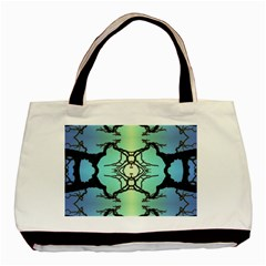 Branches With Diffuse Colour Background Basic Tote Bag (Two Sides)