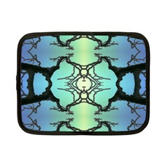 Branches With Diffuse Colour Background Netbook Case (small)