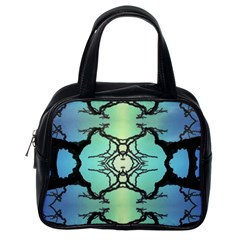 Branches With Diffuse Colour Background Classic Handbags (one Side)