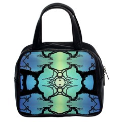 Branches With Diffuse Colour Background Classic Handbags (2 Sides)