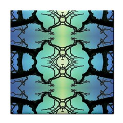 Branches With Diffuse Colour Background Face Towel