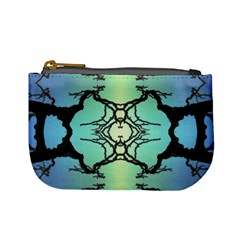 Branches With Diffuse Colour Background Mini Coin Purses