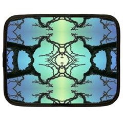 Branches With Diffuse Colour Background Netbook Case (XL)