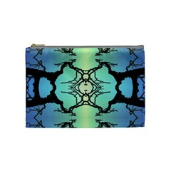 Branches With Diffuse Colour Background Cosmetic Bag (medium)