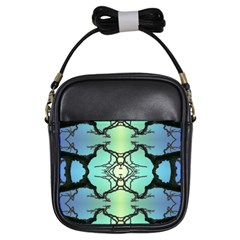 Branches With Diffuse Colour Background Girls Sling Bags