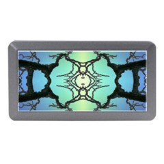 Branches With Diffuse Colour Background Memory Card Reader (Mini)