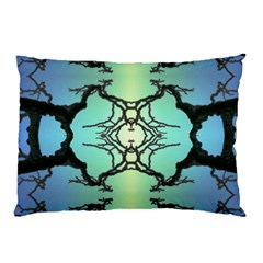 Branches With Diffuse Colour Background Pillow Case (Two Sides)