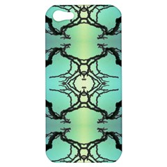 Branches With Diffuse Colour Background Apple iPhone 5 Hardshell Case