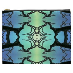 Branches With Diffuse Colour Background Cosmetic Bag (xxxl)