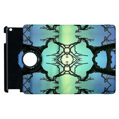 Branches With Diffuse Colour Background Apple Ipad 3/4 Flip 360 Case