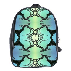 Branches With Diffuse Colour Background School Bags (xl)