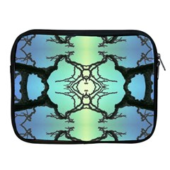 Branches With Diffuse Colour Background Apple Ipad 2/3/4 Zipper Cases