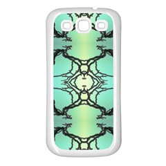 Branches With Diffuse Colour Background Samsung Galaxy S3 Back Case (white)