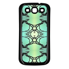 Branches With Diffuse Colour Background Samsung Galaxy S3 Back Case (black)