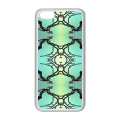 Branches With Diffuse Colour Background Apple Iphone 5c Seamless Case (white)