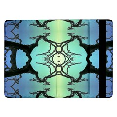 Branches With Diffuse Colour Background Samsung Galaxy Tab Pro 12 2  Flip Case