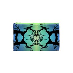 Branches With Diffuse Colour Background Cosmetic Bag (XS)