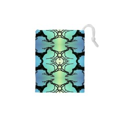Branches With Diffuse Colour Background Drawstring Pouches (XS)