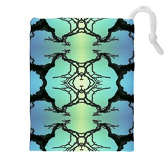 Branches With Diffuse Colour Background Drawstring Pouches (XXL)