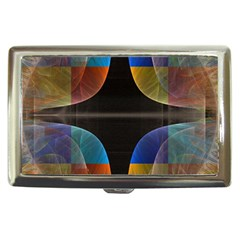 Black Cross With Color Map Fractal Image Of Black Cross With Color Map Cigarette Money Cases