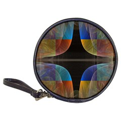 Black Cross With Color Map Fractal Image Of Black Cross With Color Map Classic 20 Cd Wallets
