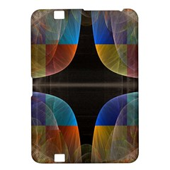 Black Cross With Color Map Fractal Image Of Black Cross With Color Map Kindle Fire Hd 8 9