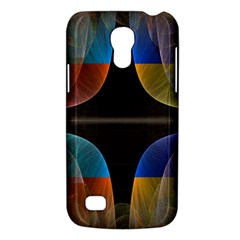 Black Cross With Color Map Fractal Image Of Black Cross With Color Map Galaxy S4 Mini