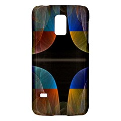 Black Cross With Color Map Fractal Image Of Black Cross With Color Map Galaxy S5 Mini