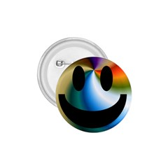 Simple Smiley In Color 1.75  Buttons
