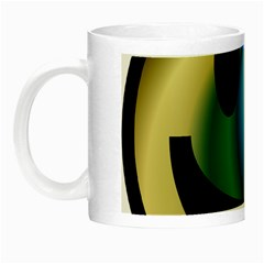 Simple Smiley In Color Night Luminous Mugs