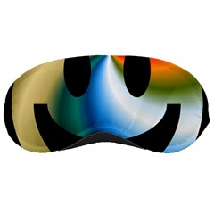 Simple Smiley In Color Sleeping Masks