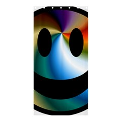 Simple Smiley In Color Shower Curtain 36  x 72  (Stall)