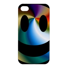 Simple Smiley In Color Apple iPhone 4/4S Hardshell Case
