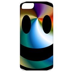 Simple Smiley In Color Apple Iphone 5 Classic Hardshell Case