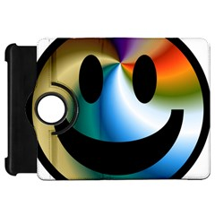 Simple Smiley In Color Kindle Fire Hd 7