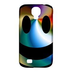 Simple Smiley In Color Samsung Galaxy S4 Classic Hardshell Case (pc+silicone)