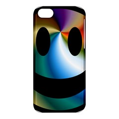 Simple Smiley In Color Apple iPhone 5C Hardshell Case