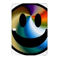 Simple Smiley In Color Samsung Galaxy Tab Pro 10 1 Hardshell Case
